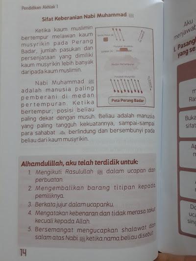 Buku Pendidikan Akhak Dan Hadits Untuk Madrasah Ibtidaiyah Isi 2
