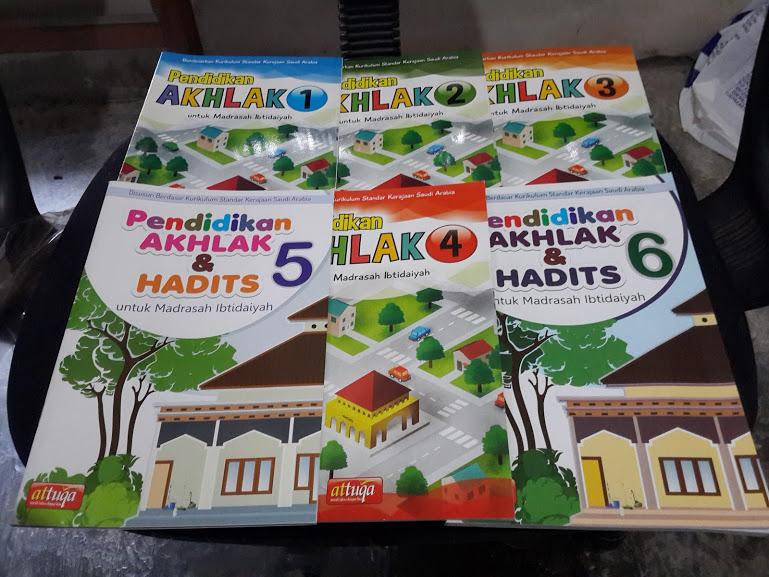 Buku Pendidikan Akhak Dan Hadits Untuk Madrasah Ibtidaiyah Set