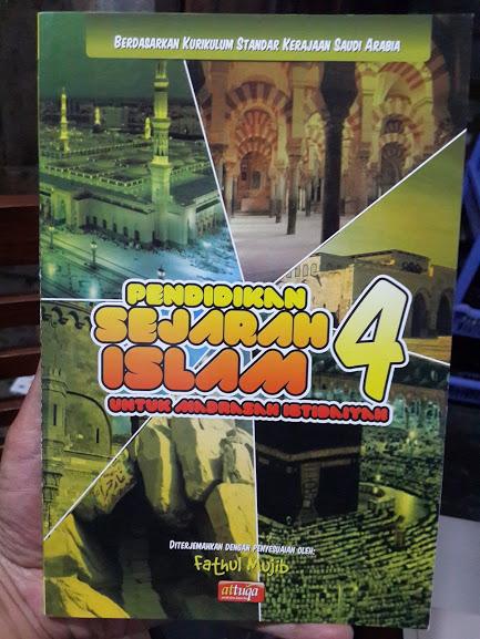 Buku Pendidikan Sejarah Islam Madrasah Ibtidaiyah Cover