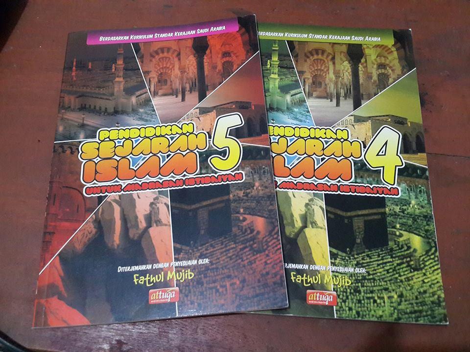 pendidikan sejarah islam untuk madrasah ibtidaiyah buku cover