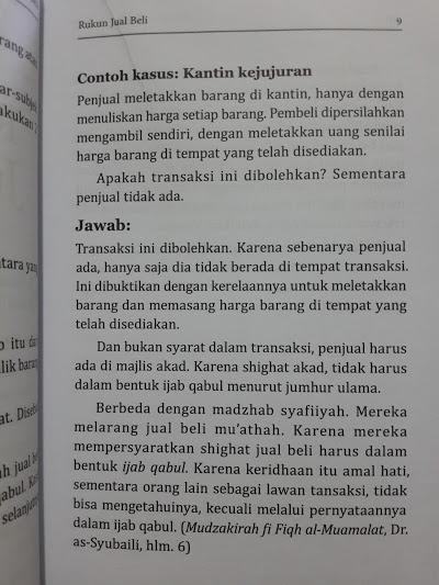 Buku Pengantar Fiqih Jual Beli Isi 2