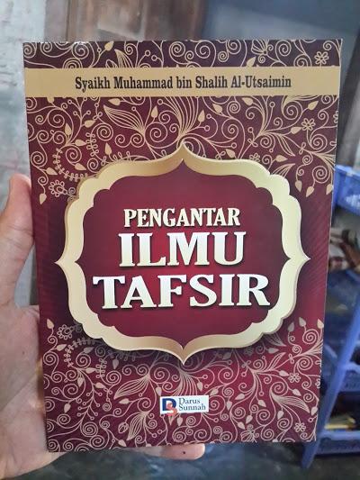 Buku Pengantar Ilmu Tafsir Cover