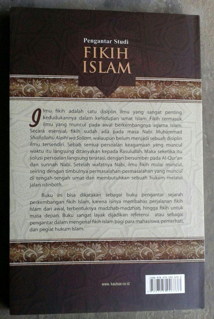 Buku Pengantar Studi Fikih Islam cover