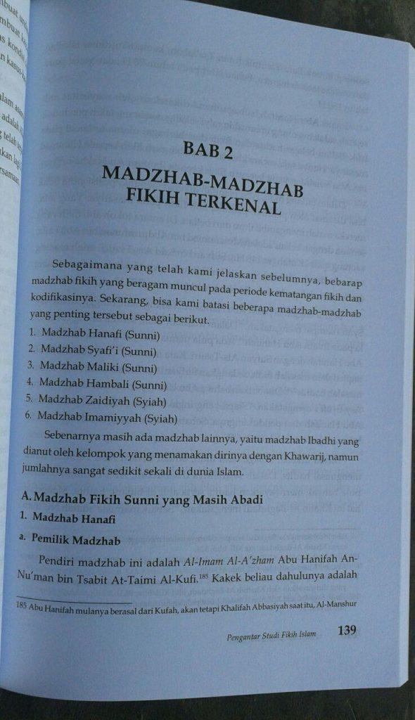 Buku Pengantar Studi Fikih Islam isi 2