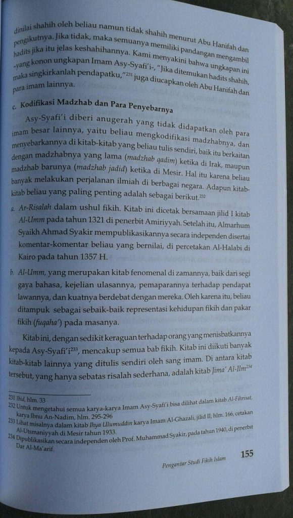 Buku Pengantar Studi Fikih Islam isi