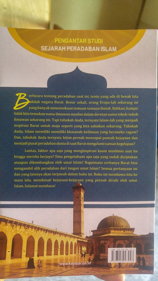 Buku Pengantar Studi Sejarah Peradaban Islam cover 2