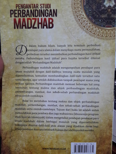 Buku Pengantar Studi Perbandingan Madzhab Cover 2