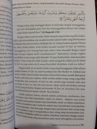Buku Pengantar Studi Perbandingan Madzhab Isi