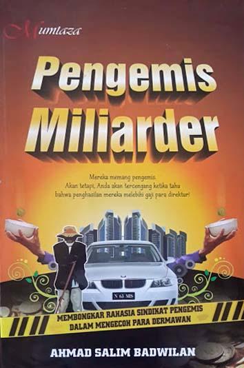 Buku Pengemis Miliarder Membongkar Rahasia Sindikat Pengemis Cover