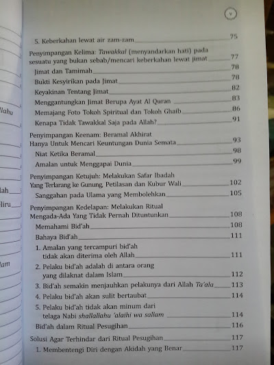 Buku Pesugihan Biar Kaya Mendadak Daftar Isi