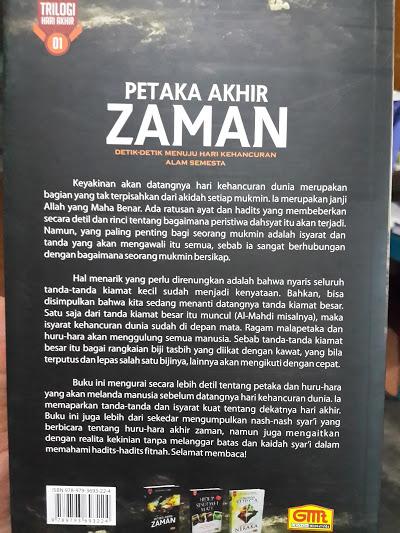 Buku Petaka Akhir Zaman Cover 2