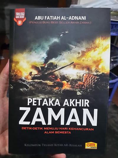 Buku Petaka Akhir Zaman Cover