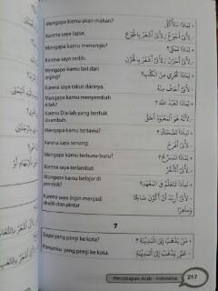 Buku Pintar Percakapan 3 Bahasa Inggris Arab Indonesia Isi