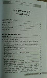 Buku Pokok Pokok Ajaran Islam Yang Wajib Diketahui Muslim isi