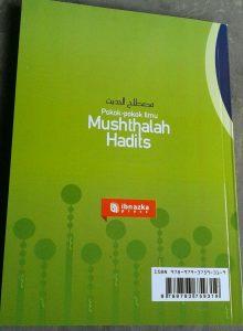 Buku Pokok-Pokok Ilmu Musthalah Hadits cover