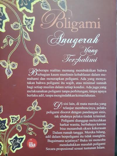 Buku Poligami Anugerah Yang Terzhalimi Cover 2