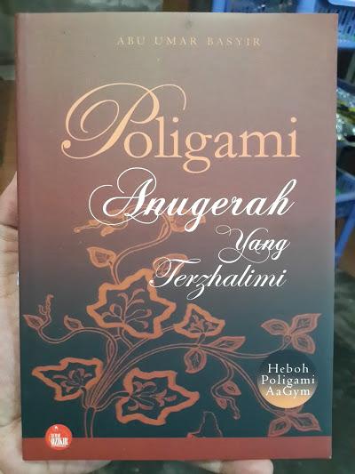 Buku Poligami Anugerah Yang Terzhalimi Cover