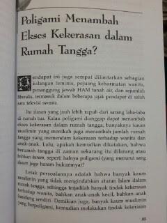 Buku Poligami Anugerah Yang Terzhalimi Isi