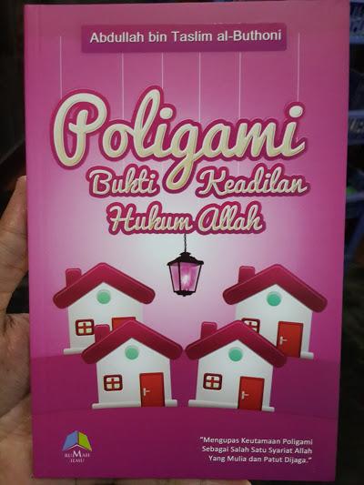 Buku Poligami Bukti Keadilan Hukum Allah Cover