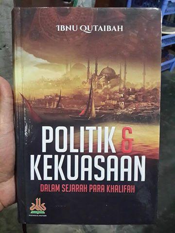 Buku Politik Dan Kekuasaan Dalam Sejarah Para Khalifah Cover