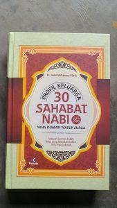 Buku Profil 30 Sahabat Nabi Yang Dijamin Masuk Surga cover