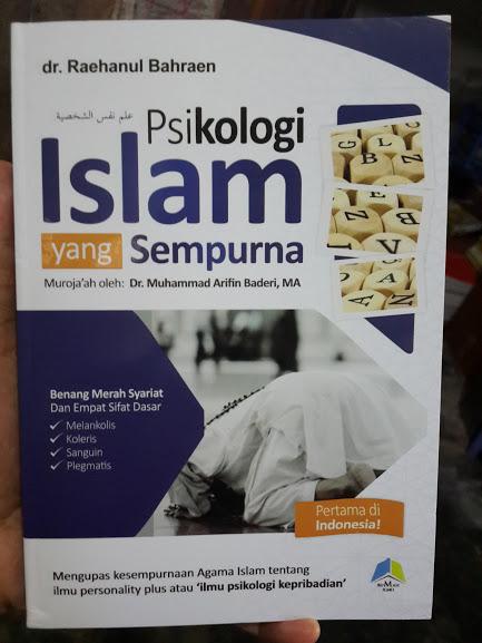 Buku Psikologi Islam Yang Sempurna Cover