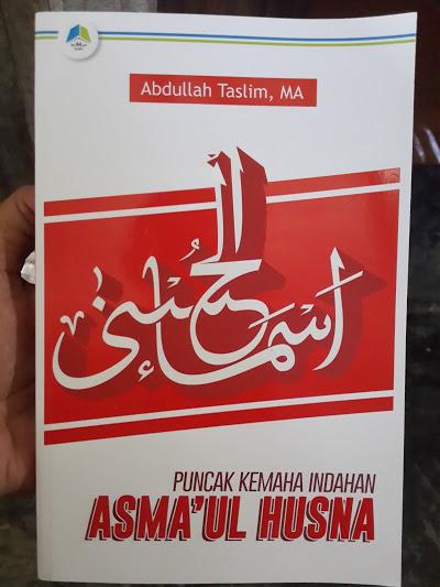 Buku Puncak Kemahaindahan Asmaul Husna Cover