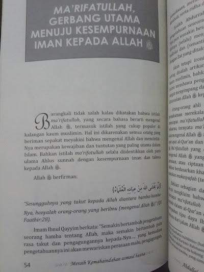 Buku Puncak Kemahaindahan Asmaul Husna Isi