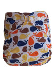 Cloth Diaper QQ Printed Suede