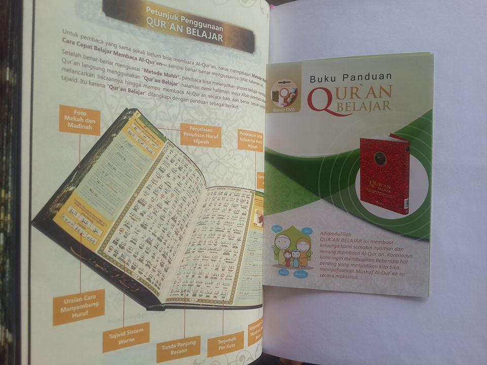 Qur'an Belajar Metode Lengkap Mempelajari Al-Qur'an Isi 3