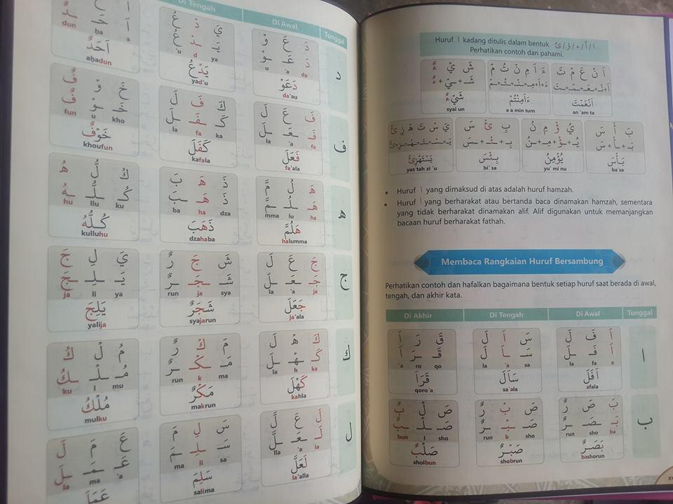 Qur'an Belajar Metode Lengkap Mempelajari Al-Qur'an Isi 4