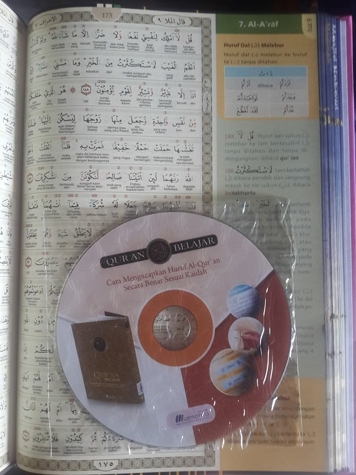 Qur'an Belajar Metode Lengkap Mempelajari Al-Qur'an Isi