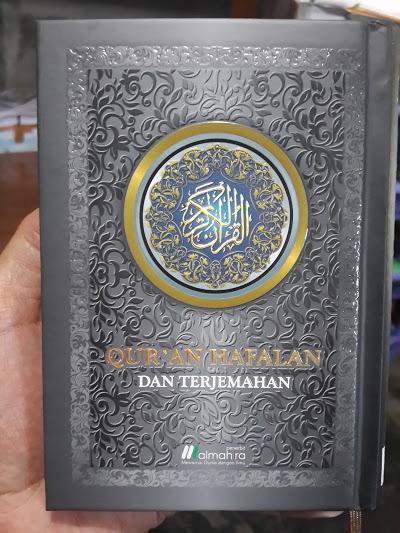 Qur'an Hafalan Dan Terjemahan Ukuran A6 Cover