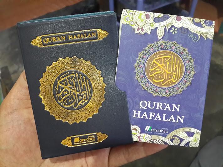 Qur'an Hafalan Tanpa Terjemah Ukuran Saku Cover 2