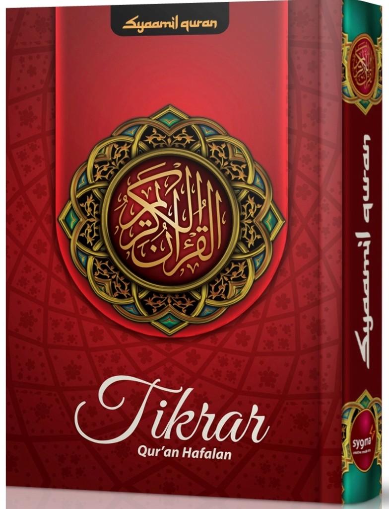 Qur'an Hafalan Tikrar Ukuran B6 Cover