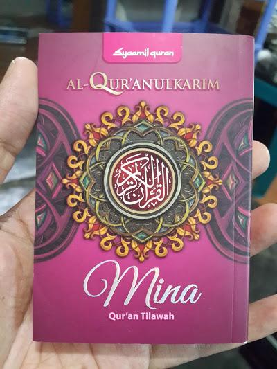 Qur'an Tilawah Saku Syaamil Tipe Mina Cover