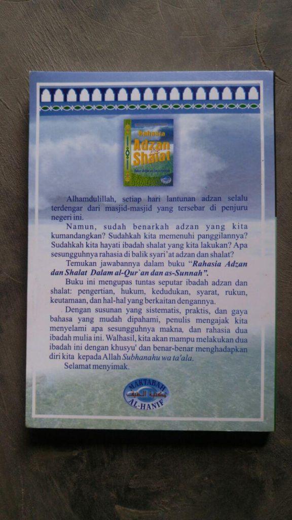 Buku Rahasia Adzan & Shalat Dalam Al-Quran Dan As-Sunnah cover 2