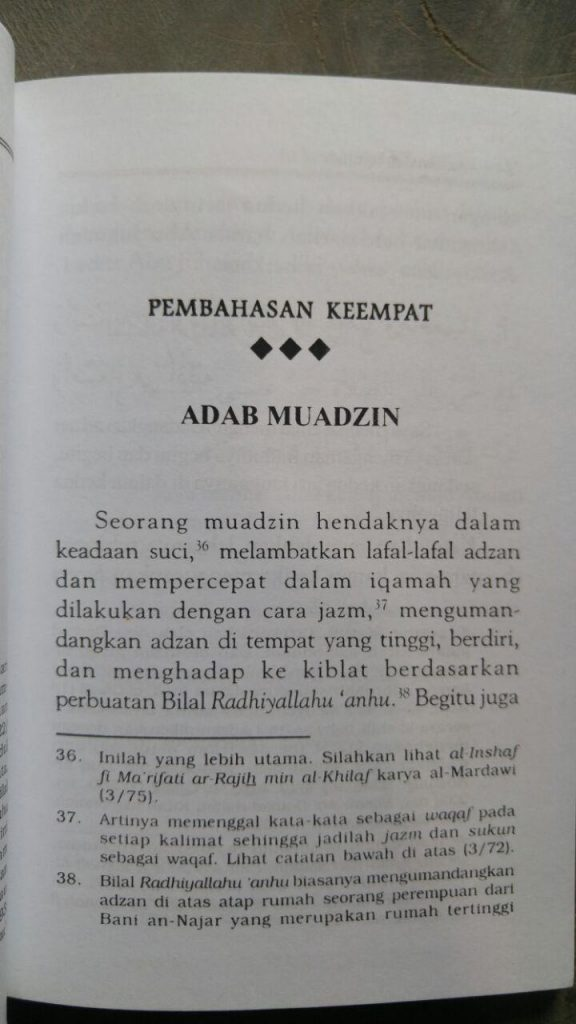 Buku Rahasia Adzan & Shalat Dalam Al-Quran Dan As-Sunnah isi 2