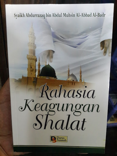 Buku Rahasia Keagungan Shalat Cover