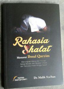Buku Rahasia Shalat Menurut Ibnul Qayyim cover 2