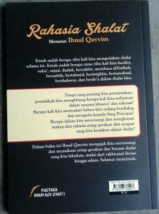 Buku Rahasia Shalat Menurut Ibnul Qayyim cover