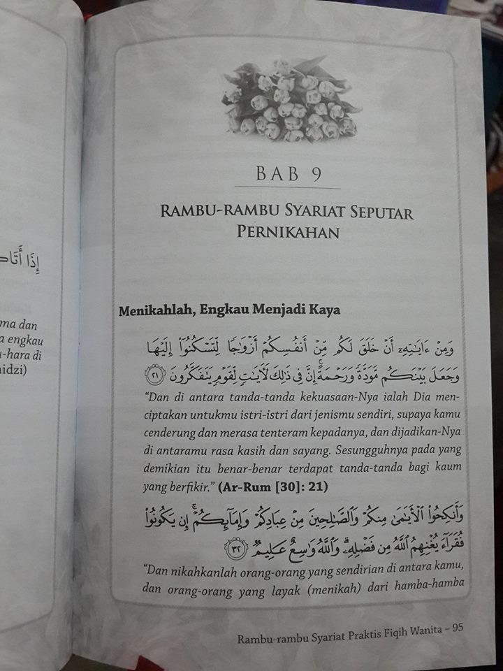 rambu-rambu syariat praktis fiqih wanita isi
