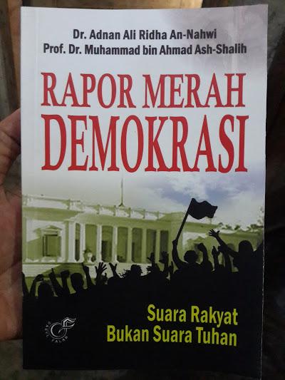 Buku Rapor Merah Demokrasi Cover