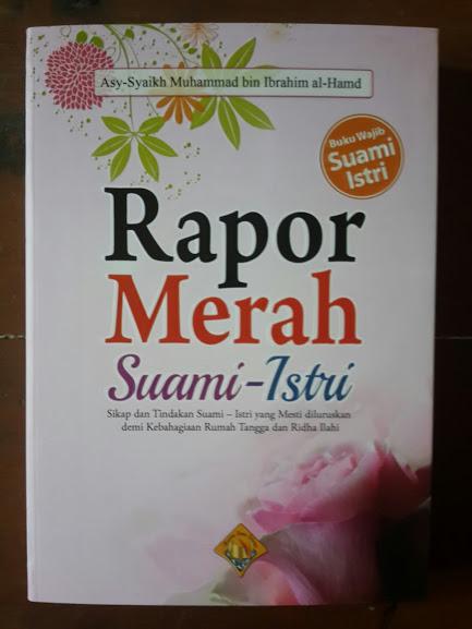 Buku Rapor Merah Suami Istri Cover