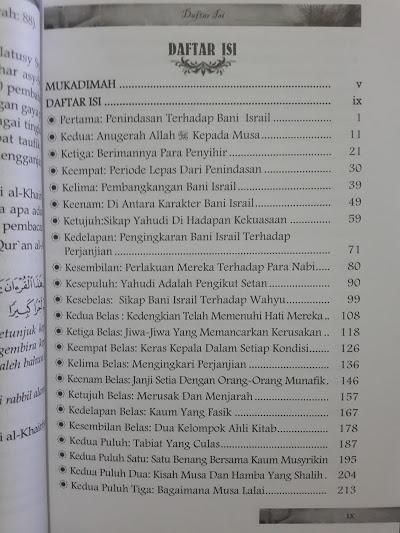 Buku Raport Merah Yahudi Sepanjang Sejarah Daftar Isi