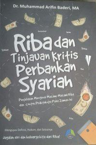Buku Riba Dan Tinjauan Kritis Perbankan Syariah cover 2