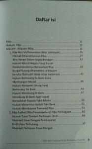 Buku Riba Dan Tinjauan Kritis Perbankan Syariah isi