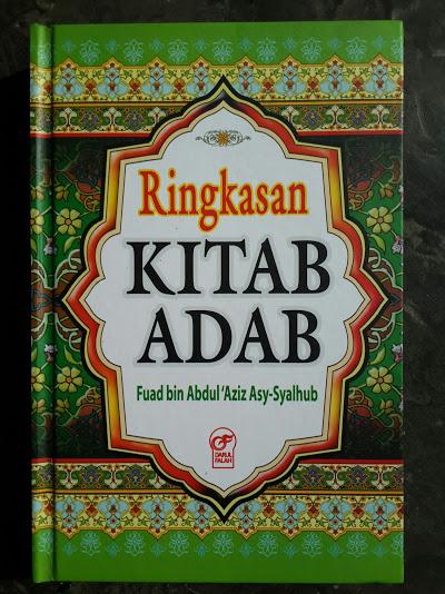 Buku Ringkasan Kitab Adab Cover