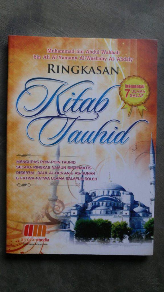 Buku Ringkasan Kitab Tauhid Rekomendasi 7 Ulama Salaf cover