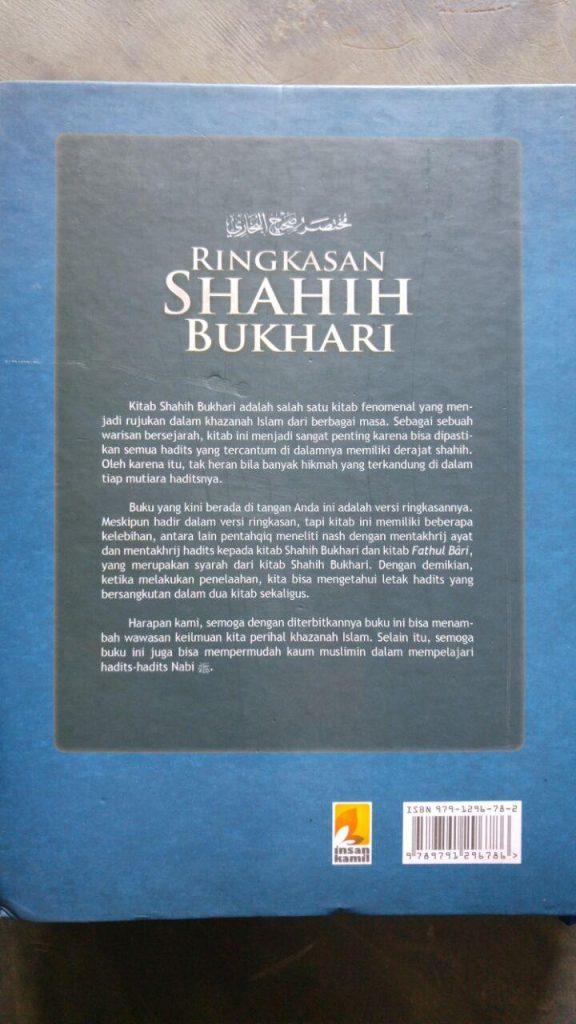 Buku Ringkasan Shahih Bukhari cover 2